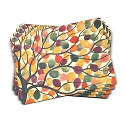 Pimpernel Placemats, Dancing Branches, Set Of 4 2010648807