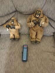 Vintage Marx Japan Battery Operated King Kong 50s/60s