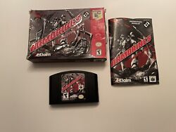 Armorines Project S.w.a.r.m. Nintendo 64, 1999 N64 In Box With Manual.
