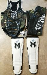 Brian Myers Official Ring Worn Full Outfit - Singlet Pants And Signed Curt Hawkins