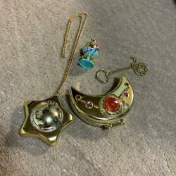 Sailor Moon Starry Music Box Phantom Silver Crystal Things At The Time Set
