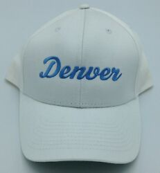 Nba Denver Nuggets Adult Structured Adjustable Fit Cap Hat Beanie New