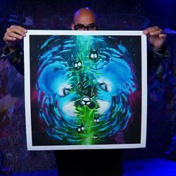 Deadmau5 X Garibaldi 2 Le Of 100 Print Signed And Numbered
