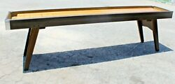 Vintage American Shuffleboard Game Table - Great Condition. 9 Feet