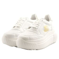 Shoes Sneakers Casual Starter Black Label Woman White Leather Rubber Upturn