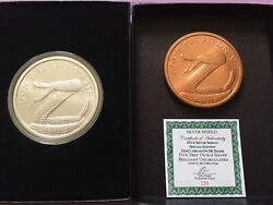 2014 Sbss Silver Shield Don't Tread On Me 5oz Silver In Box With Coa