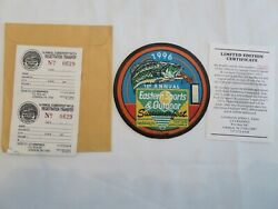 1996 1st Annual Eastern Sports And Outdoor Summerfest Ltd Ed Patch W/cert 629