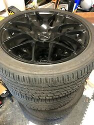 Bmw 535 F10 Custom Rims With New Tires