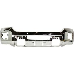 New Chrome Front Bumper For 2015-2019 Gmc Sierra 2500 Hd 3500 Hd Ships Today
