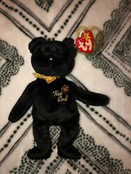 Ritired Ty Beanie Baby The End 1999 With Errors.