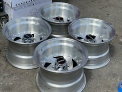 15x10 Wheels Rims Vintage Hard Body Pick Up 6 15 Blade Cookie Cutter Ar26 Wide