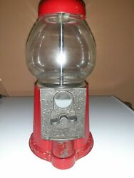 Replacement Parts Red Carousel Bubble Gumball Machine Cast Metal Junior Gb11
