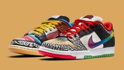 Nike Sb Dunk Low - What The Paul - Menand039s Size 10 - 100 Authentic