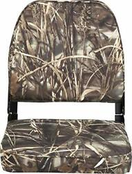 Attwood 98395camo Low-back Padded Boat Seat Camo High-impact Plastic Frame 7 ...