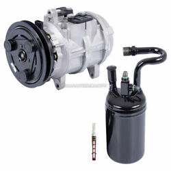 For Ford Ranger And Bronco Ii V6 Ac Compressor W/ A/c Drier And Orifice Tube Tcp
