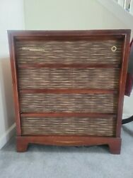 Rca Victor Shf-5 - Orthophonic Tube Console Record Player