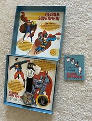 Fossil Reign Of The Supermen , Limited Edition, Brand New, Vintage, Rare,