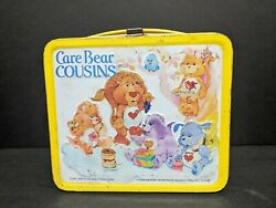 Care Bears Cousins Lunch Box - No Thermos - 1985