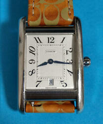 Working Products Coach W502b Wristwatch White Dial With More Good Addition