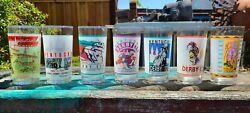 Set Of 14 Kentucky Derby Glasses From 1978 To 2011 Brand New.