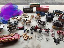 Vintage Metal Toys. All Are In Very Good Condition For The Age.