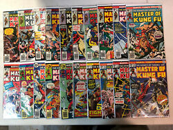 Master Of Kung Fu 1975 36-125 + Annual Vf-/nm Complete End Run Set Shang-chi