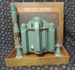 Star Wars Galaxyand039s Edge Boba Fett Jetpack W/launching Missile Lights And Sound