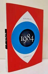 1984 Nineteen Eighty-four By George Orwell Chilling Prophecy Hardcover New