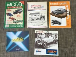 5 Vintage Toy Catalogs Solido, The American Toy Trucker, Exact Scale, Model