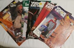Lot Of 6 Knitting Pattern Instruction Booklets Sweaters And Vests