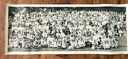 Vintage Ad-art Photo Studios Akron Oh Hoover Company Employee Picnic Families 2