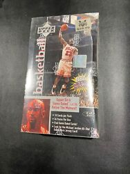 1997-98 Upper Deck Series 2 Basketball Factory Sealed 36 Pack Retail Box Read