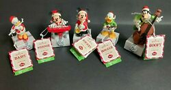 Hallmark Disney Wireless Band All 5 Pieces - Excellent / Working Cond W/ Tags
