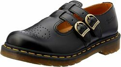 Women's Shoes Dr. Martens 8065 Leather Mary Jane 12916001 Black Smooth