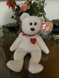 Valentino Style 4058 Ty Beanie Baby Original Rare Mint Condition Brown Nose
