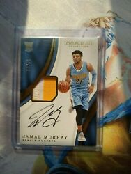2016-17 Immaculate Collection Jamal Murray 2-color Patch Auto 50/99 Nuggets Rc