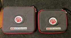 Rose Micro Solutions Two Frames 3.5x Loupes And Light Two Batteries Cases