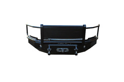 Iron Cross For 14-18 Toyota Tundra Textured Grill Guard Front Bumper - 24-715-14