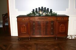 Antique Buffet And Server