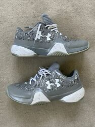 Andy Murrayandrsquos Personal Player Issue Under Armour Clutch Fit Tennis Shoes 11 Uk