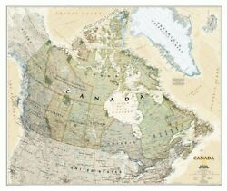 Canada Executive [laminated] National Geographic By National Geographic Maps