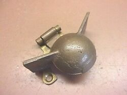 Unique Brass Hinged Cover For Nautical Purposes 3 1/8 X 2 5/8 But Covers What
