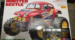 Tamiya Monster Beetle 2015 Black Edition 47419 Discontinued Rare New In Box