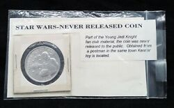 Vintage Star Wars Luke Prototype Never Released Small Coin Potf X-wing Pilot