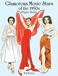Glamorous Movie Stars Of 1950s Paper Dolls Dover By Tom Tierney Mint Condition