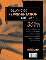 Hollywood Representation Directory, 36th Edition By Staff Of Hollywood Creative