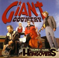Honky Tonk Hangovers - Giant Country - Cd - Excellent Condition - Rare