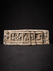 Antique Fragment Of An Indian Temple From India, 12-13th Century