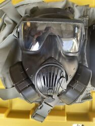Avon M-50 Protective Gas Mask Size Large W/extra Filter Excellent Condition