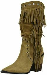 Kenneth Cole New York Womenand039s West Side Mid Fringe - Choose Sz/color